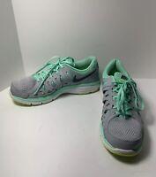 Nike Dual Fusion Run 2 Women's Gray Teal Sneakers Sz 10 NEAR MINT