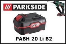 4Ah Bateria taladro Parkside Battery Drill PAP 20 A3 Hammer PABH 20 Li B2