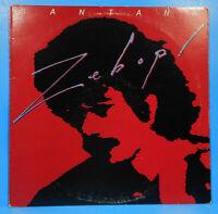 SANTANA ZEBOP! VINYL LP 1981 ORIGINAL PRESS GREAT CONDITION! VG+/VG!!A