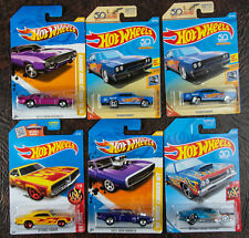 Hot Wheels Dodge Plymouth 71 70 Road Runner Coronet Charger  lot of 6