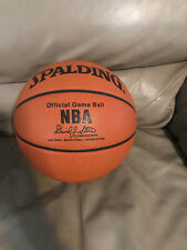 Spalding Nba Official Game Ball David Stern