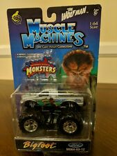 """BIGFOOT 'THE WOLFMAN"""" Muscle Machines FORD MO64-03-12 Monster Jam"""