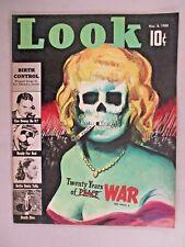 Look Magazine - November 8, 1938 ~~ sexy skull cover