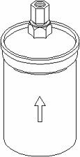 Kraftstofffilter - Topran 104 134