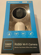 Momentum MOCAM-1080-01 Robbi Wireless 1080p HD Home Security IP Camera NEW
