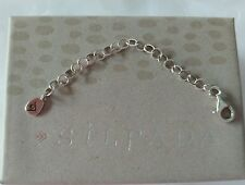 Necklace Extender N2714 Nib Silpada .925 Sterling Silver 3""