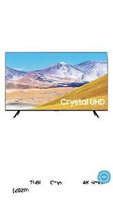 Samsung 43 Crystal UHD 4k Smart TV