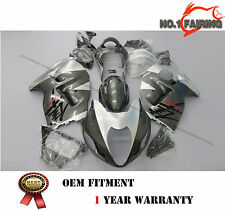 ABS Silver Grey Fairing kit Bodywork for SUZUKI Hayabusa GSX1300R 1999-2007 NEW