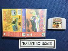 Top Gear Rally Caja Reproducion Especial Juegos Nintendo 64 N64 EXCELENTE ESTADO