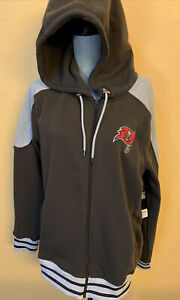 NFL APPAREL Mens Tampa Bay Buccaneers Size L Zip Up Jacket