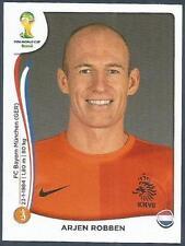 PANINI WORLD CUP 2014- #140-NEDERLAND-HOLLAND-ARJEN ROBBEN