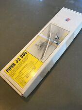 Herr piper cub laser cut balsa f/f r/c model airplane kit