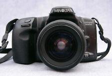 1990s Minolta Dynax 500si 35mm SRL Camera 28-80mm Zoom Lens