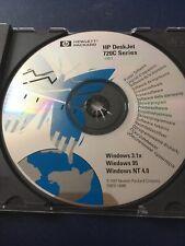 Vintage HP DeskJet 720C Series v10.1 Software Disc
