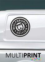 2 VW Transporter Graphics Wolfsburg Edition Camper Van Decals Stickers T4 T5 VW1