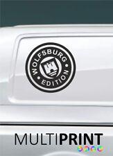 2 VW TRANSPORTER Graphics Wolfsburg Edition Camper Van Décalques Stickers t4 t5 vw1