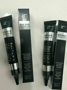 IT Cosmetics Bye Bye Under Eye Concealer Anti Aging Brand New CHOOSE YOUR SHADE