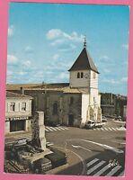 33 - PESSAC - L'Eglise et le Monument aux Morts (1987 - Aspect toilé)