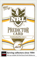 2006 Select NRL Invincible Cards Unredeemed Predictor Card PC9 Eels