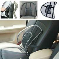 Black Car Vent Kissen Netz Rückenlendenwirbelstütze Auto Sitzstuhl Lkw Sitz