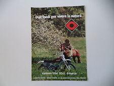advertising Pubblicità 1976 MOTO CIMATTI KAIMAN TRIAL 50