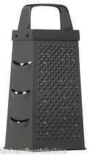 Kitchen Craft Non Stick Coated Black 4 Sided Box Cheese Grater