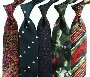 Lot of 5 Silk Italian Ties