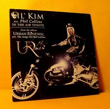 cardsleeve single CD LIL' KIM FEAT PHIL COLLINS In The Air Tonite 2TR 2001 hip
