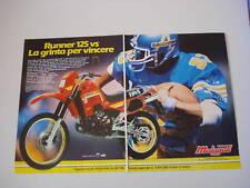 advertising Pubblicità 1986 MOTO MALAGUTI RUNNER 125 VS