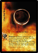 Lord of the Rings CCG Return King 7C1 The One Ring The Ruling Ring X2 LOTR TCG