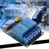 2 Channel 5V/12V 10A Relay Module With Optocoupler for Arduino RPi ESP8266