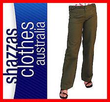 Wide Leg Cotton Pants for Women