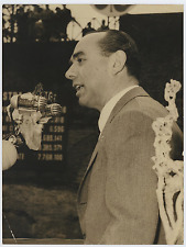 On. Bonomi  Vintage silver print Tirage argentique  18x24  Circa 1958