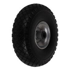 Sackkarrenrad Vollgummi Ersatzrad PU Rad Reifen 3.00-4 für Sackkarren 260mm