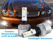 LAMPADE FENDINEBBIA A LED JAGUAR X TYPE 01-09 CAMBUS BIANCO CREE