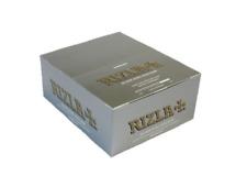 Rizla FBA5481 Silver King Size Slim Cigarette Paper - 50 Booklets