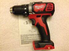 """New Milwaukee M18 2606-20 18 Volt 18V Li-ion 1/2"""" Drill Driver"""