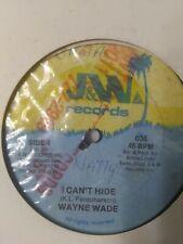 "Wayne Wade-I Can't Hide 12"" Vinyl Single REGGAE DANCEHALL"