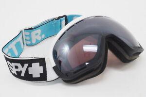 Spy Marshall Snow Sport Goggles (Black/White) With Happy Lens