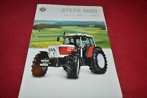 Steyr 9078 9086 9094 Tractor Dealers Brochure CDIL