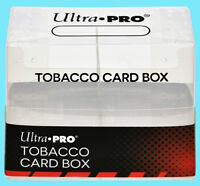 ULTRA PRO TOBACCO 50 CARD STORAGE BOX Trading Sport Allen Ginter Mini Cigar Case