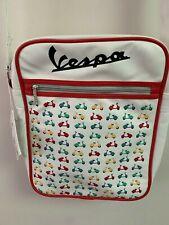 Authentic Vespa White Laptop/Messenger Bag!!
