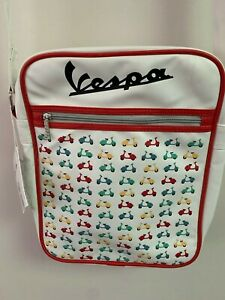 Authentic Vespa White Laptop/Messenger Bag!!