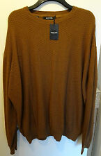 Black Label by Jacamo Jumper Knitwear Size XL to 5XL Big and Tall RRP £30