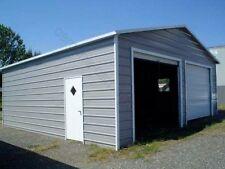 Pre Fab Steel Building A Frame Carports Garage Shops