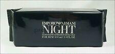 ღ Emporio Armani Night for Him - Armani - OVP EDT 100ml