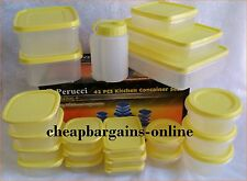 PLASTIC FOOD STORAGE CONTAINERS WITH LIDS FREEZER STORAGE LUNCH CONTAINERS BBQ
