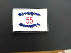 Jumbo Fridge Magnet Present Souvenir Glasgow Rangers 55