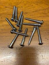 "Wood Screws Slotted Flat Head Bronze #8 x 1-1//4/"" WSB8114"