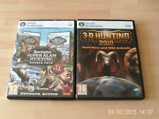 3-d hunting 2010 & Remington Super Slam Hunting Double alaska+africa  new&sealed